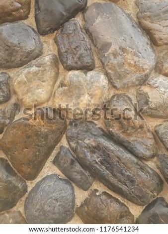 Stones Mix Cement #1176541234