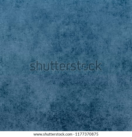Vintage paper texture. Blue grunge abstract background #1177370875