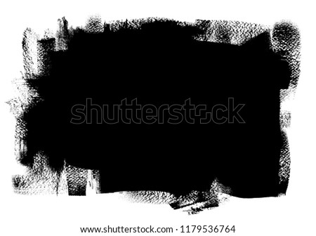 Abstract brush painted background, grunge texture