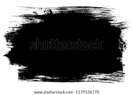 Abstract grunge background, brush strokes