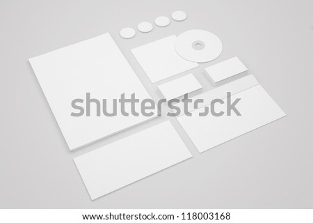 Set Stationery Corporate ID