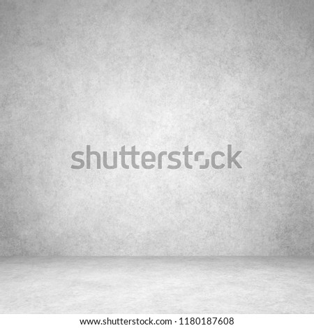 Designed grunge texture. Wall and floor interior background #1180187608