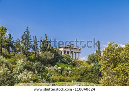Temple of Hephaestus,Athens,Greece #118048624