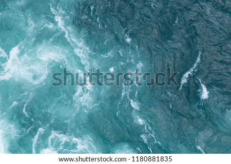 Blue and white water background #1180881835