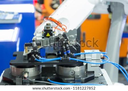 robot arm working #1181227852