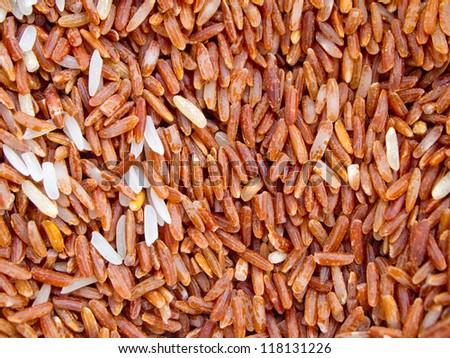 Thai red jasmine rice #118131226