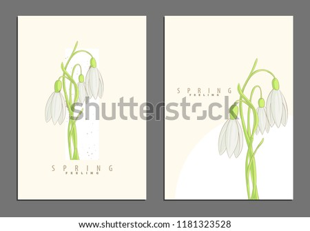 Floral bright colorful cover template for your documents #1181323528