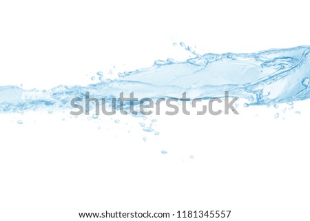 Water,water splash isolated on white background #1181345557