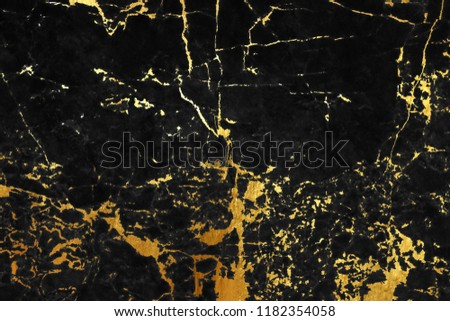 Marble black golden texture wall background #1182354058