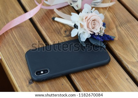 Wedding pack two rings flowers and phone #1182670084