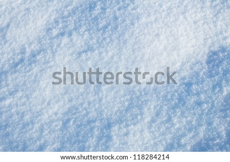 Abstract background of shiny snow #118284214