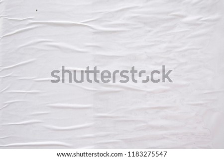 blank luxurious contemporary creased wrinkled abstract paper texture #1183275547