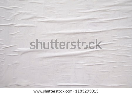 white exposed poster wall #1183293013