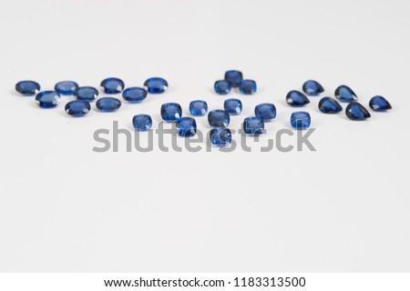 Pile of saphire diamonds #1183313500