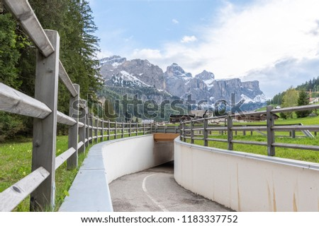 Dolomites Italy, landscape and nature #1183337752