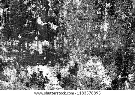 Abstract background. Monochrome texture. Image includes a effect the black and white tones. #1183578895