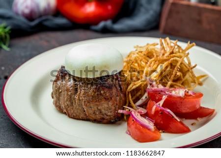 grilled steak filet Mignon #1183662847