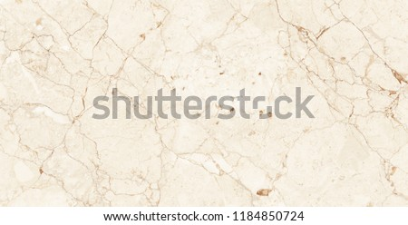 ivory italian marble texture background with high resolution, Emperador quartzite marbel surface, close up glossy wall tiles, polished limestone granite slab stone, polished beige marfil statuario.  #1184850724