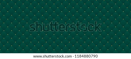 Dark green color. Deep emerald seamless pattern for premium royal party. Luxury template with vintage leather texture wallpaper. Background for invitation card. Festive traditional christmas backdrop Royalty-Free Stock Photo #1184880790