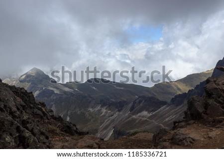 View from ruca pichincha over quito, ecuador #1185336721