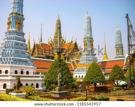Grand Palace of Thailand #1185541957