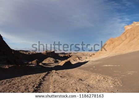 Desert landscape - Atacama, Chile #1186278163