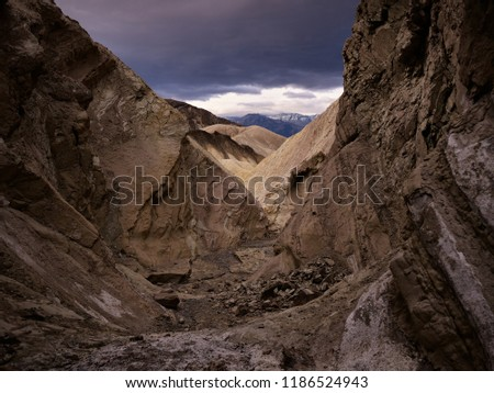 Mountains in Death Valley, California #1186524943