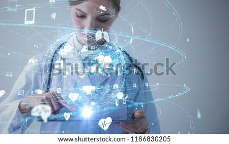 Medical technology concept.