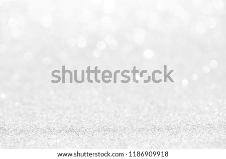 White abstract bokeh background