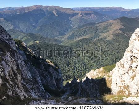 Beautiful romanian mountains #1187269636