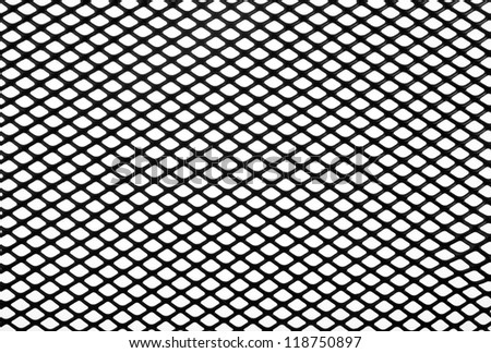 black net on a white background #118750897