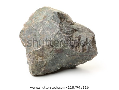 stone on a white background. Royalty-Free Stock Photo #1187945116