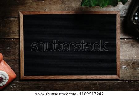 Wooden Board MockUp #1189517242