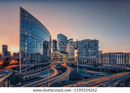 La Defense, business district in Paris #1190334262