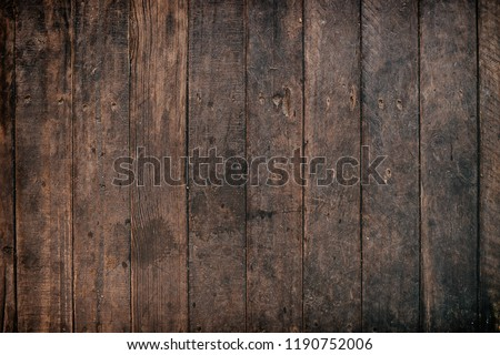 Wood texture background, wood planks texture of bark wood natural background #1190752006