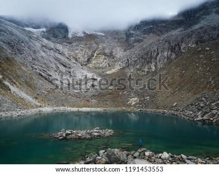 Laguna Chrupita, Huascaran National Park, Peru #1191453553
