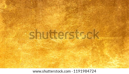 Gold background texture metal texture steel plate #1191984724