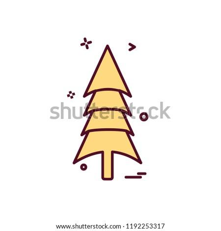 Tree icon design vector #1192253317