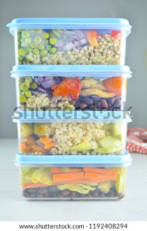 Healthy Meal Prep - recipe preparation photos #1192408294