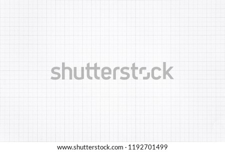 White paper with grid line pattern for background. #1192701499
