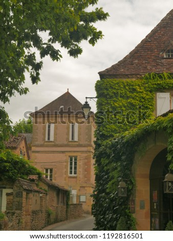 Quaint Town in the Countryside #1192816501