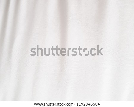 white cloth for abstract background texture, with soft waves condition #1192945504