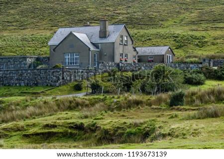 Connemara Landscapes and animals . Ireland #1193673139