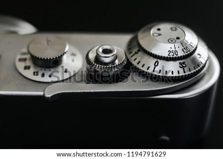 detail old camera