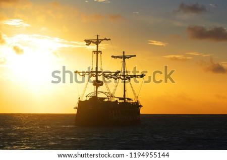Pirate Ship Salvleon De Higuey #1194955144