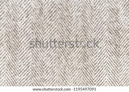 Close up Australian woolen Merino sheep wool fabric pattern #1195497091