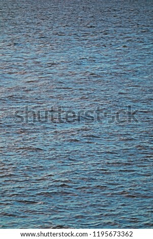 scenery seascape with reflection of daylight on sea surface in close up and minimal style so beautiful ripple pattern for abstract nature background #1195673362
