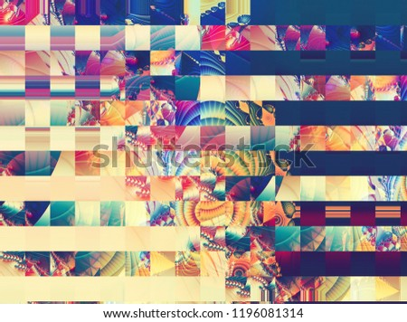 abstract mosaic geometrical multicolored background. illustration for design.