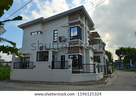 House Exterior Architecture #1196125324