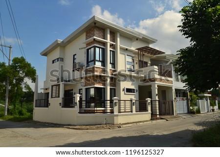 House Exterior Architecture #1196125327